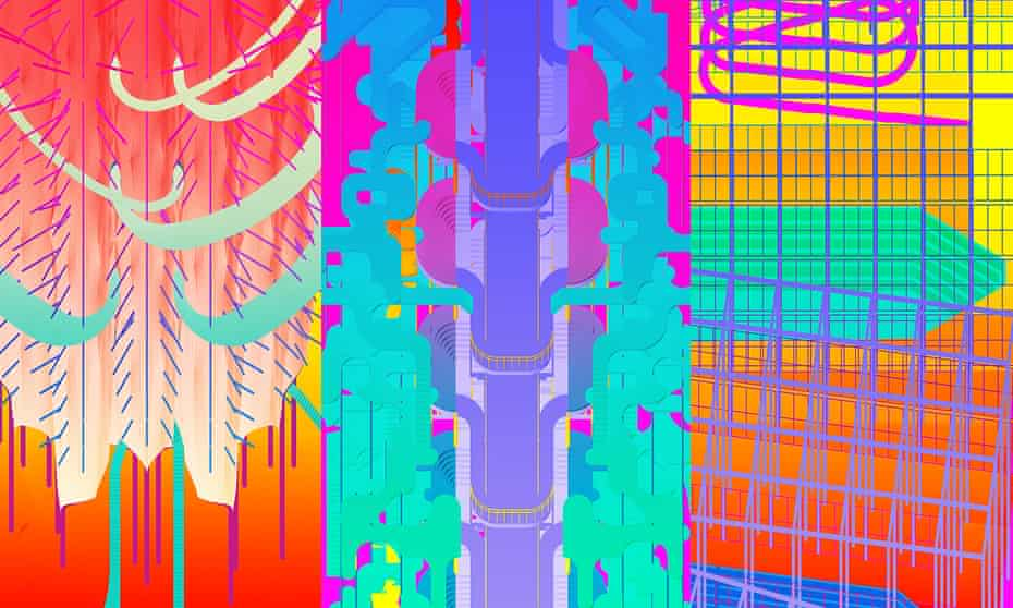 Flurotecture … student work from the Architectural Association.
