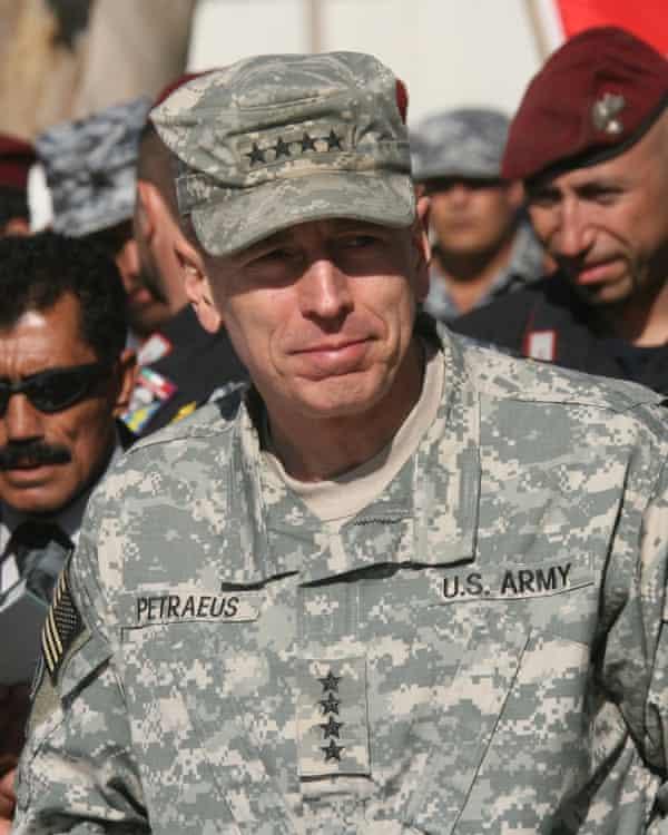 Gen David Petraeus.