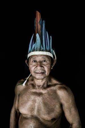 Vinicio da Silva, 58, is a Macuxi indigenous man from Uiramutã