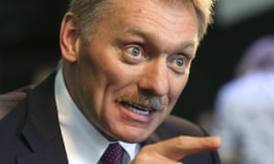 Dmitry Peskov said moving missiles to Kaliningrad was a logical response to a hostile west.