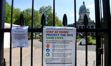 UK coronavirus live: Britain marks VE Day anniversary under lockdown