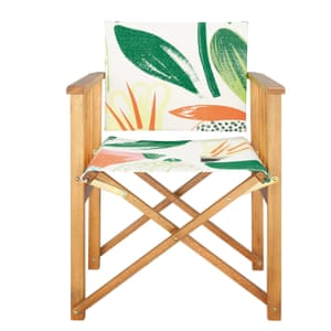 Africa floral director's chair from Habitat