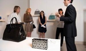 The £162,000 Birkin bag.