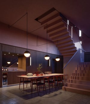 Balfron Tower Dining Area.