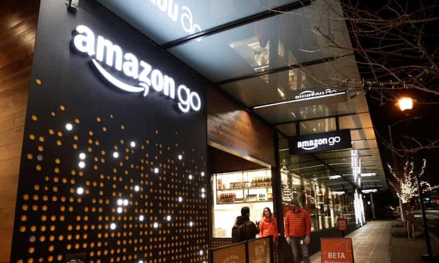 Amazon Go shop in Seattle