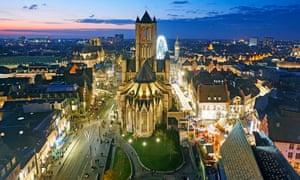 St Nicholas church, Ghent.