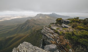 Bluff Knoll in the Stirling Ranges near Albany, Western Australia
