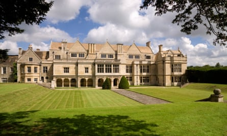 French diplomat Jean Christophe Iseux, Baron von Pfetten, bought Apethorpe Palace in Northamptonshire 18 months ago for £2.5m.