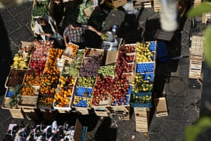 Naples street markets are a place to experience the energy of the city