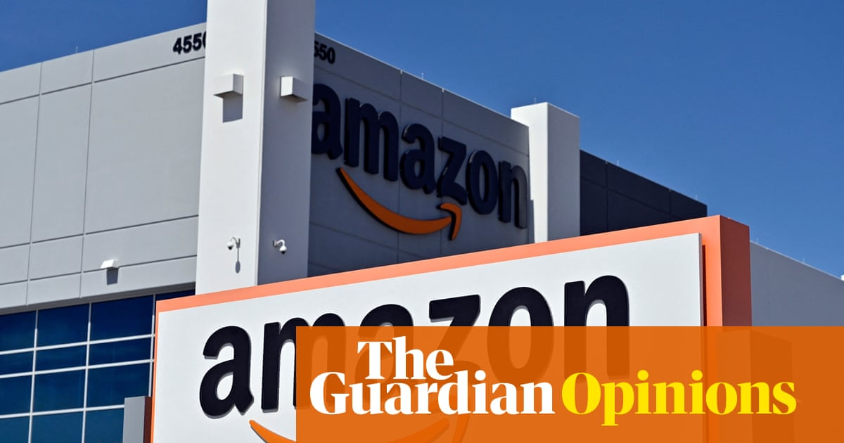 The Guardian view on Amazon's shops: benefit society, not just consumers