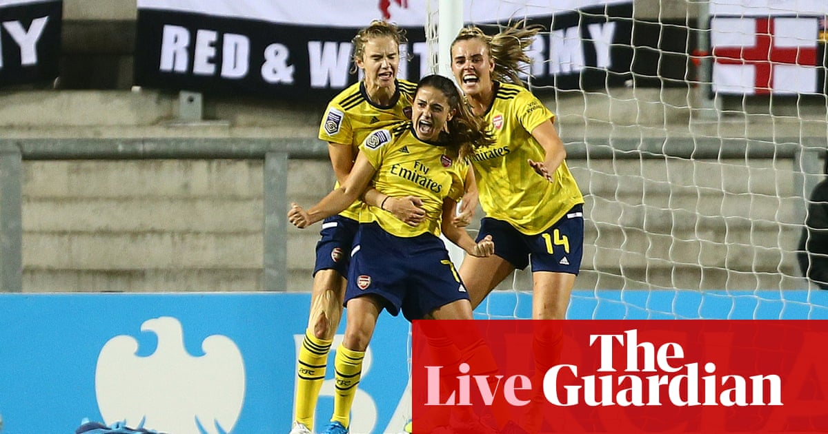 Manchester United 0-1 Arsenal: Womens Super League – live!