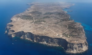 A view of Lampedusa