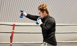 'Once you start fighting people recognise you're not a girl boxer, you're a boxer': Ellie Scotney.