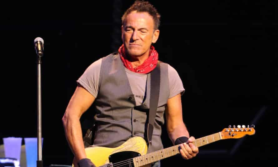Bruce Springsteen has admitted he struggled with depression for much of his adult life