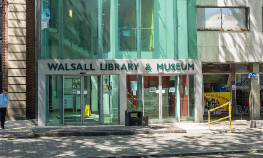 Walsall library.