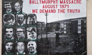 Victims of the massacre at Ballymurphy