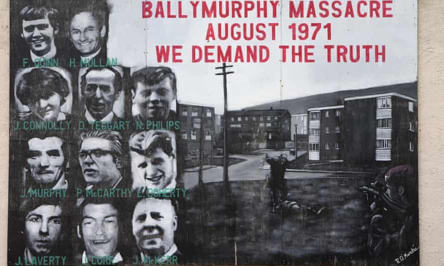 Victims of the massacre at Ballymurphy