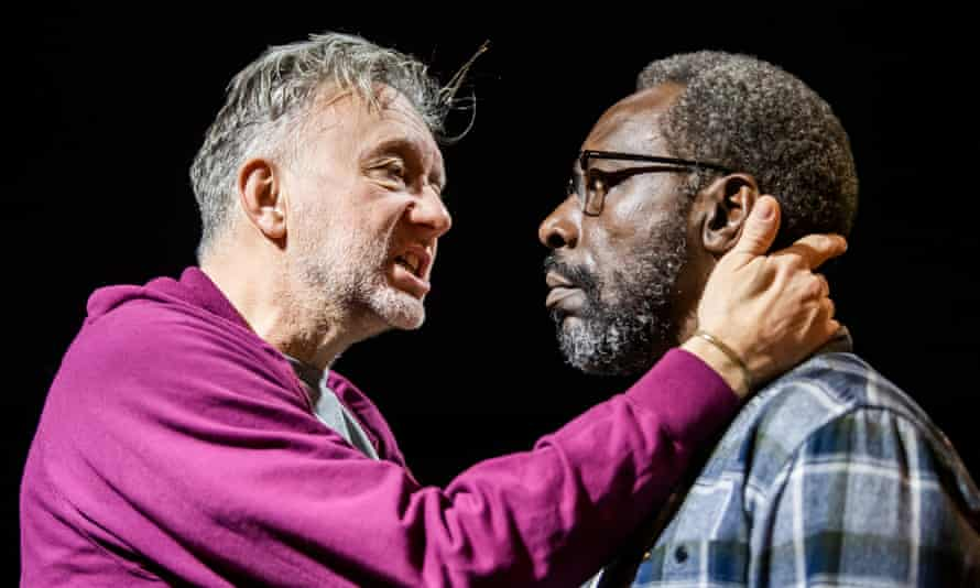 Jasper Britton and Gary Beadle in The Sunset Limited