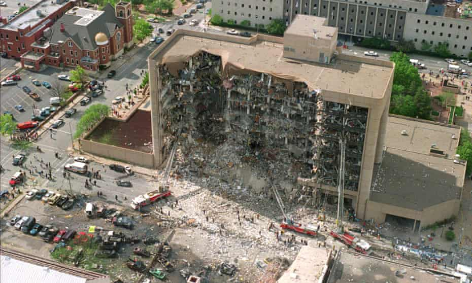 The 1995 Oklahoma bombing did not produce a war on terror response in the way that 9/11 did.