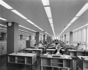 Staff at desks