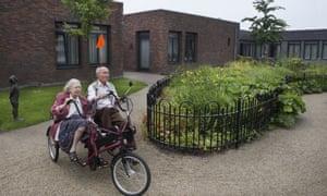 Hogeweyk, a dementia village near Amsterdam, is the model for a new British version.