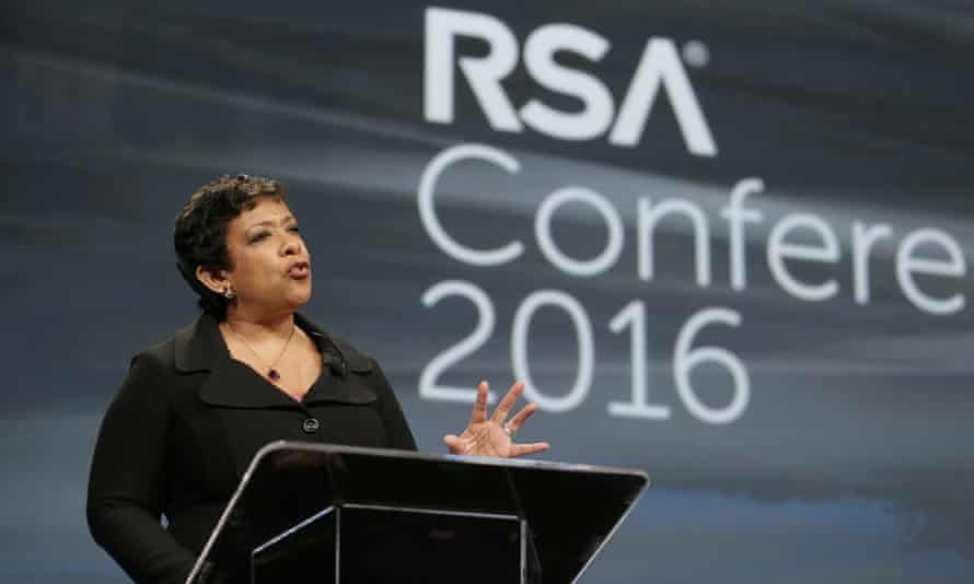 US attorney general Loretta Lynch told the same audience that technology companies are threatening to break the country's 'social compact' if they don't cooperate with authorities.