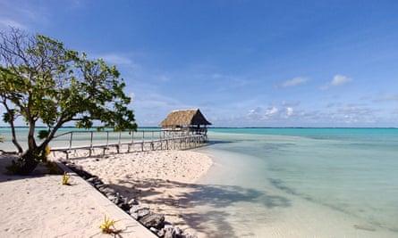 The Tabon Te Keekee Eco Lodge, Tarawa Atoll, Kiribati