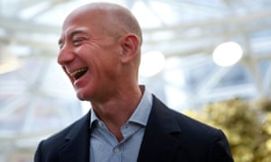 Amazon founder and CEO Jeff Bezos, the world's richest person. The wealth of the world's billionaires has risen by more then $10t since the start of the pandemic.