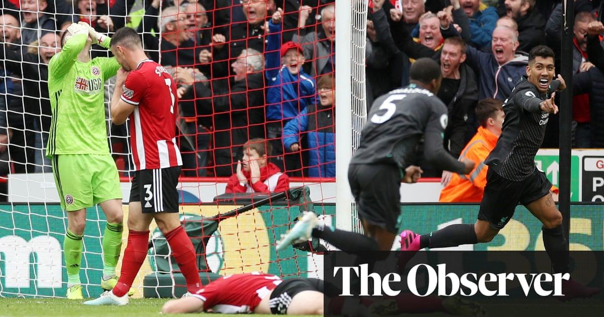 Henderson howler hands Liverpool narrow win at spirited Sheffield United