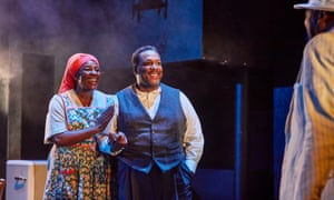 'Sheer force': Sharon D Clarke and Wendell Pierce in Death of a Salesman.