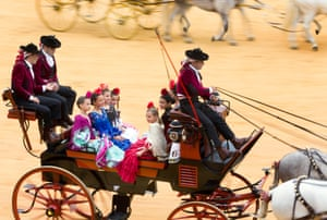 The rest of the week continues with a midday procession taking people to the bullring