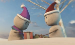 "John Lewis Christmas Advert"" 2016 - The Snowglobe (A level media coursework)"