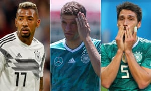 Jérôme Boateng, Thomas Müller and Mats Hummels have been dropped by Germany coach Joachim Löw.