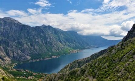 Montenegro, view of Kotor
