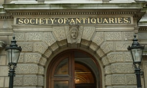 The Society of Antiquaries is based in Burlington House in London