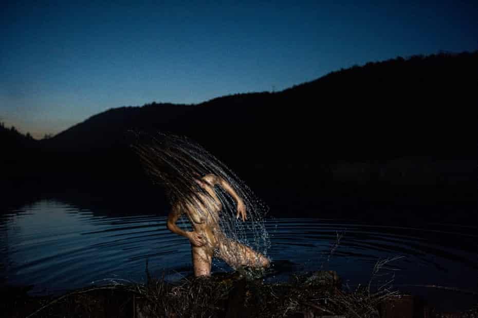 Dread Dam, by Ryan McGinley, 2020.