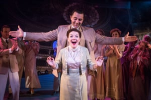 Funny Girl - Darius Campbell (Nick Arnstein), Sheridan Smith (Fanny Brice). pic by Marc Brenner