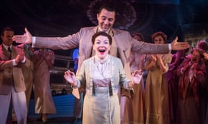 'The crackle of challenge': Sheridan Smith as Fanny Brice, with Darius Campbell as Nick Arnstein, in Funny Girl at the Menier.