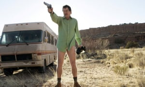 'The opening minutes of the television classic Breaking Bad are powered by ancient storytelling forces': Bryan Cranston as Walter White.
