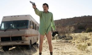 Bryan Cranston in Breaking Bad (2008). Photograph: Allstar/Sony Pictures Television