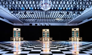 The Despacio system boasts eight stacks of McIntosh speakers and amps.