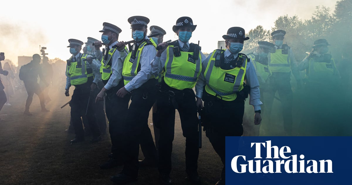 Anger in Met after violence at London anti-lockdown protest