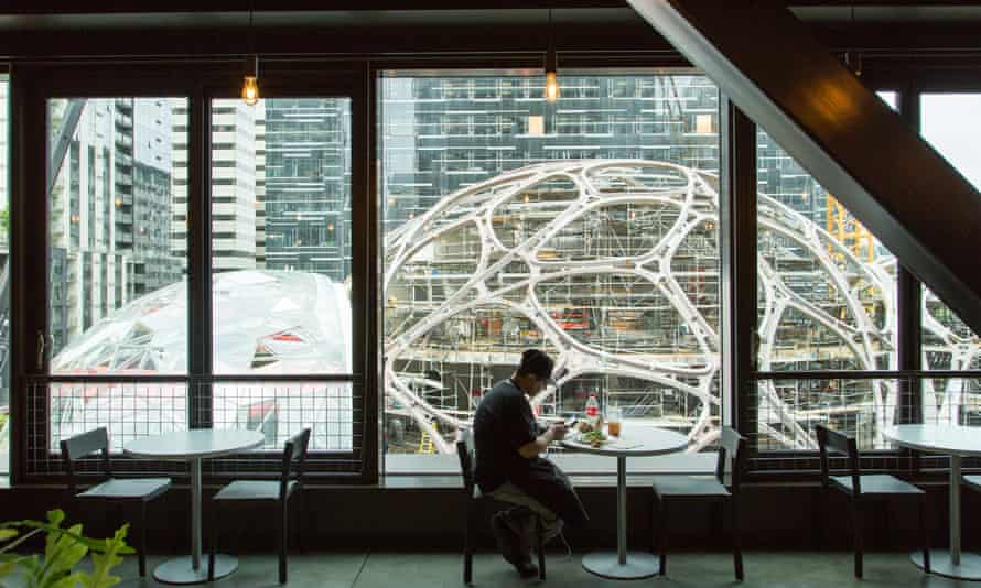 Amazon's new sites in Seattle.