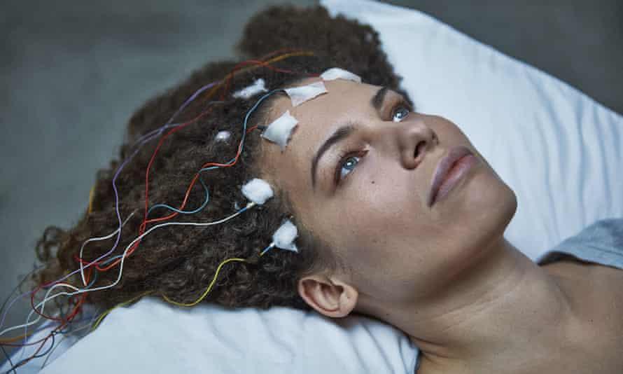 Jennifer Brea in a scene from 'Unrest'