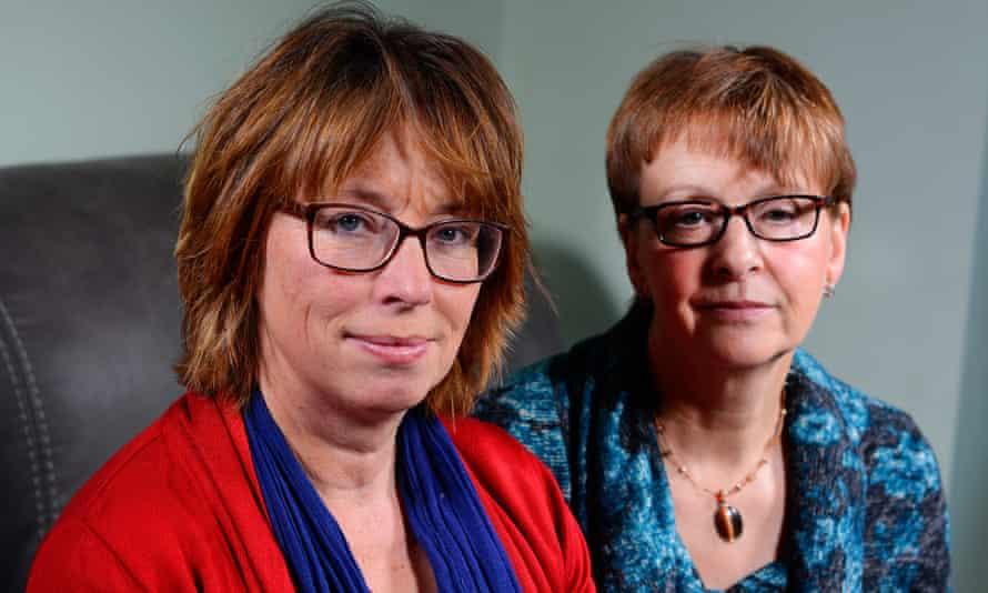 Rachel Hayden and Karen Derringer.