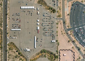 Phoenix Municipal Stadium – Phoenix, AZThis second state-run vaccination megasite in Arizona opened on February 1, 2021. Close to 200,000 vaccines have been administered before being relocated to an indoor facility on April 12, 2021.
