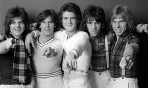 Alan Longmuir, second left, with, from left: Eric Faulkner, Les McKeown, Stuart Wood and his brother, Derek Longmuir. Like the rest of the band, Alan felt trapped by fame and disliked the erosion of his privacy