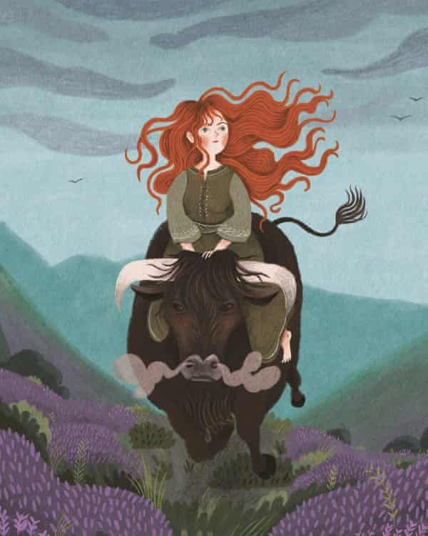 A detail from The Lost Fairy Tales by Isabel Otter, illustrated Ana Sender.