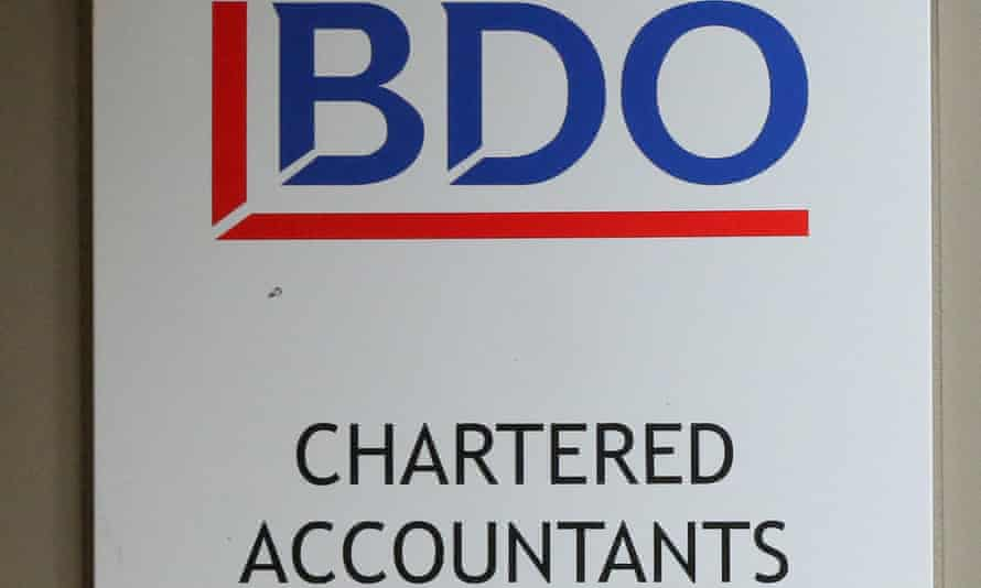 BDO employs 6,000 across the UK.