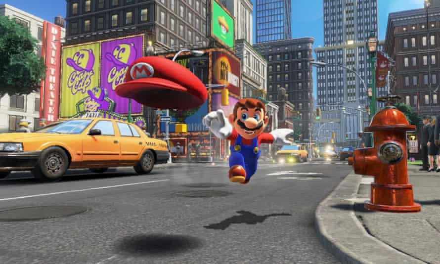 Nintendo titles such Super Mario Odyssey are great for families – but less fun for teenagers.